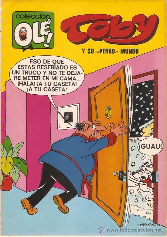 COMIC OLE 1ª EDICION TOBY Y SU PERRO MUNDO (Tebeos y Comics - Bruguera - Ole)