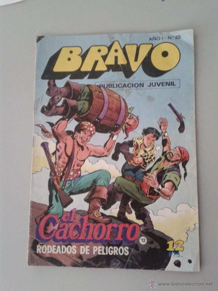 BRAVO Nº 23. EDITORIAL BRUGUERA. EL CACHORRO, NUMERADO 12 (Tebeos y Comics - Bruguera - Bravo)