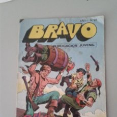 Tebeos: BRAVO Nº 23. EDITORIAL BRUGUERA. EL CACHORRO, NUMERADO 12. Lote 48338320