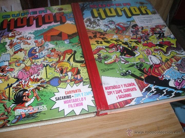 LOTE DE 2 TOMOS DE COMIICS SUPER HUMOR (Tebeos y Comics - Bruguera - Super Humor)