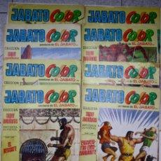 Tebeos: LOTE DE 8 JABATO COLOR. COLECCION SUPERAVENTURAS. AÑOS 1971-1972-1973. Lote 48404915
