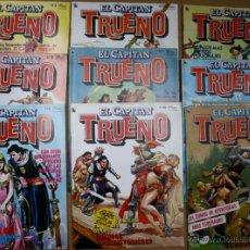 Tebeos: LOTE DE 9 TEBEOS EL CAPITAN TRUENO. AÑO 1986. Lote 48405212