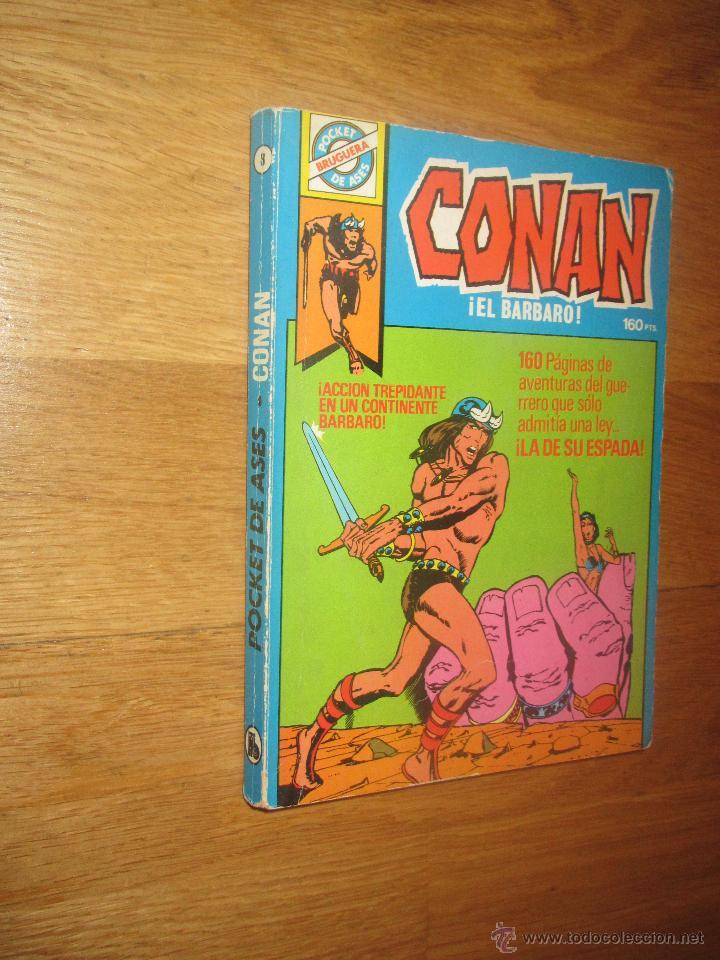BRUGUERA- POCKET DE ASES CONAN (Tebeos y Comics - Bruguera - Otros)