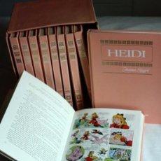 Tebeos: COLECCIÓN HISTORIA COLOR - SERIE MUJERCITAS - 10 TOMOS - 1ª EDICIÓN 1972 Y 1973. Lote 48521298