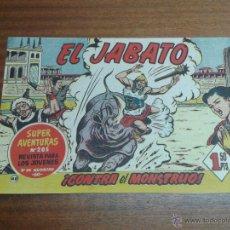 Tebeos: EL JABATO Nº 48 / BRUGUERA ORIGINAL. Lote 48540775