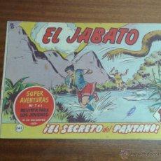 Tebeos: EL JABATO Nº 241 / BRUGUERA ORIGINAL. Lote 48568453