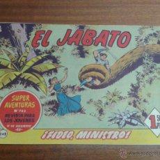 Tebeos: EL JABATO Nº 242 / BRUGUERA ORIGINAL. Lote 48568469