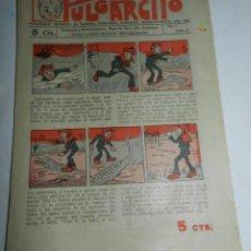 Tebeos: PULGARCITO, AÑO II - Nº 31, TIENE 8 PAGINAS, 5 CENTIMOS.. Lote 48572470
