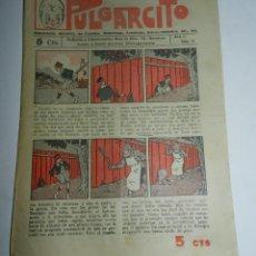 Tebeos: PULGARCITO, AÑO II - Nº 32, TIENE 8 PAGINAS, 5 CENTIMOS.. Lote 48572478