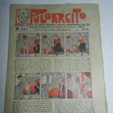 Tebeos: PULGARCITO, AÑO II - Nº 33, TIENE 8 PAGINAS, 5 CENTIMOS.. Lote 48572490