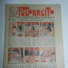 Tebeos: PULGARCITO, AÑO II - Nº 34, TIENE 8 PAGINAS, 5 CENTIMOS.. Lote 48572505