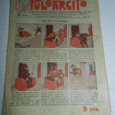 Tebeos: PULGARCITO, AÑO II - Nº 18, TIENE 8 PAGINAS, 5 CENTIMOS.. Lote 48572528
