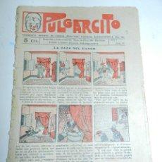 Tebeos: PULGARCITO, AÑO II - Nº 19, TIENE 8 PAGINAS, 5 CENTIMOS.. Lote 48572581