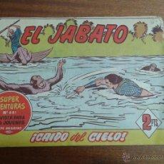 Tebeos: EL JABATO Nº 311 / BRUGUERA ORIGINAL. Lote 48574462