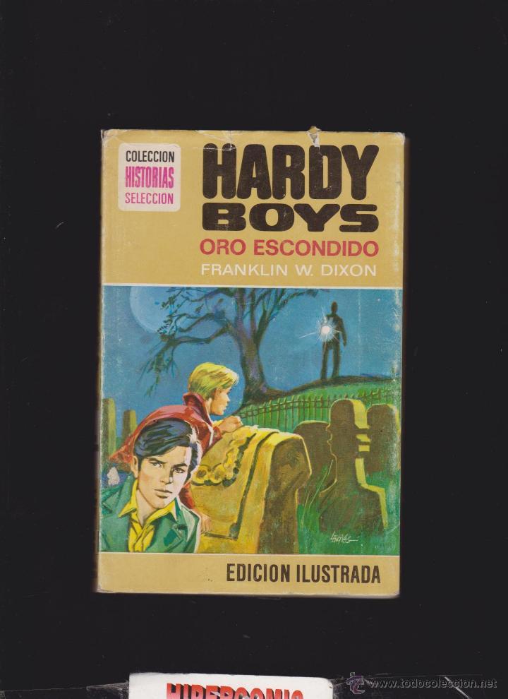COLECCION HISTORIAS SELECCION Nº 5 HARDY BOYS , ORO ESCONDIDO - 1ª EDICION 1976 (Tebeos y Comics - Bruguera - Historias Selección)