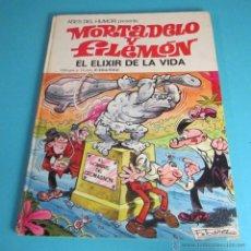 Tebeos: EL ELIXIR DE LA VIDA. DIBUJOS Y GUIÓN: F. IBÁÑEZ. MORTADELO Y FILEMÓN. Nº 26. 1ª EDICIÓN 1973. Lote 48585436