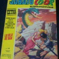 Tebeos: JABATO COLOR LA ISLA DE RAA Nº 12 TERCERA ÉPOCA EDITORIAL BRUGUERA AÑO 1978. Lote 48593112