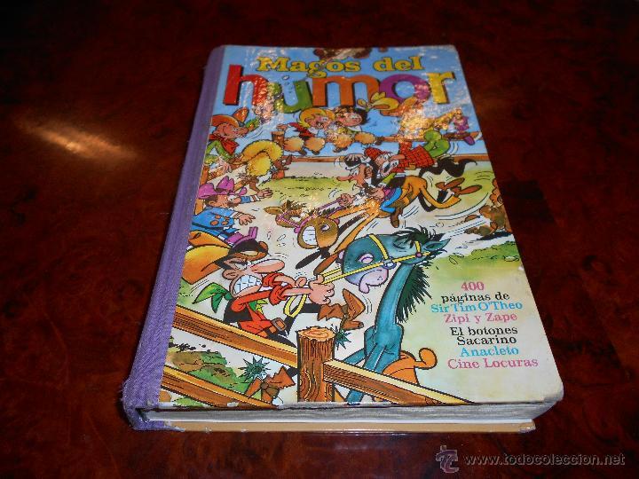 MAGOS DEL HUMOR VOLUMEN XIII. EDITORIAL BRUGUERA 1ª EDICION 1973. COMPLETO BUEN ESTADO GENERAL (Tebeos y Comics - Bruguera - Otros)