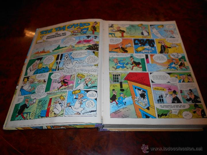 Tebeos: MAGOS DEL HUMOR VOLUMEN XIII. EDITORIAL BRUGUERA 1ª EDICION 1973. completo buen estado general - Foto 2 - 232881550