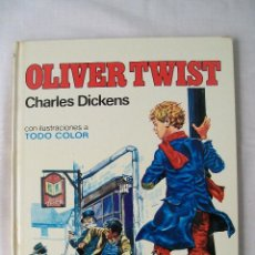 Tebeos: OLIVER TWIST CHARLES DICKENS EDITORIAL BRUGUERA 1977. Lote 48627176