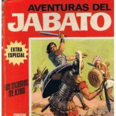 Tebeos: AVENTURAS DEL JABATO. EXTRA ESPECIAL. Nº 5. LOS SICARIOS DE KIRO. BRUGUERA 1970 (C/A33). Lote 48661741