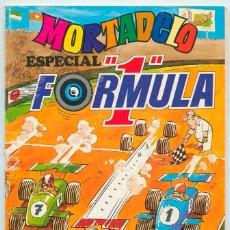 Tebeos: MORTADELO ESPECIAL - Nº 50 - FORMULA 1 - ED. BRUGUERA - 1978 (CON ALAIN CHEVALIER) . Lote 48667583
