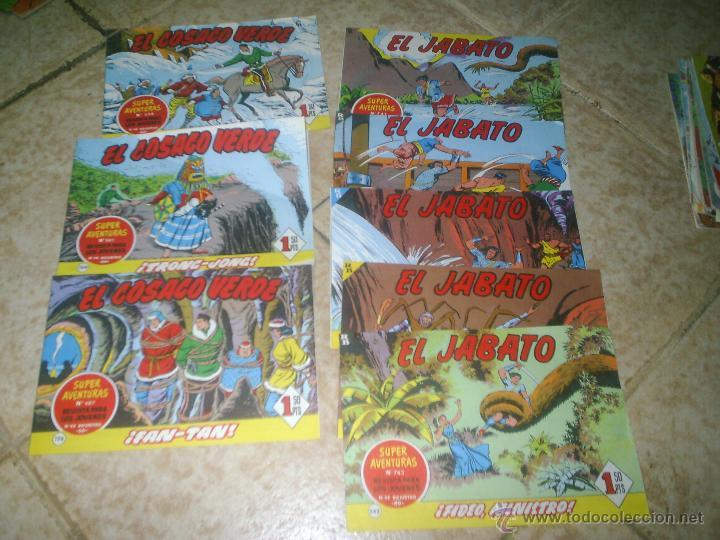 LOTE JABATO Y EL COSACO VERDE (Tebeos y Comics - Bruguera - Jabato)