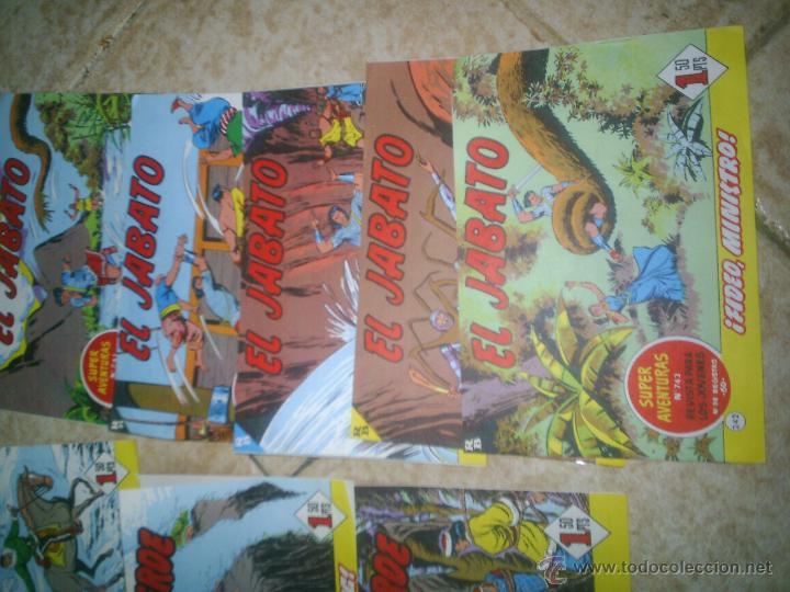 Tebeos: lote jabato y el cosaco verde - Foto 2 - 48744818