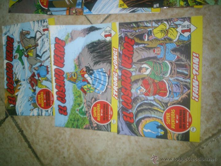 Tebeos: lote jabato y el cosaco verde - Foto 3 - 48744818