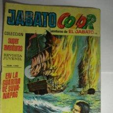 Tebeos: EL JABATO COLOR - BRUGUERA - Nº 132 - AÑO 1972. Lote 48781018