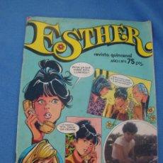 Tebeos: ESTHER AÑO 1 NÚMERO 5 EDITORIAL BRUGUERA AÑO 1982. Lote 48868302