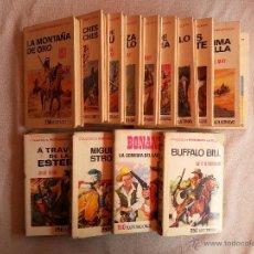 Tebeos: COMICS HISTORIA SELECCIÓN, BUFFALO BILL, JULIO VERNE, BONANZA, KARL WAY. EDT. BRUGUERA. ( AÑOS 60). Lote 48960565
