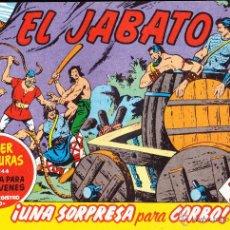 Tebeos: COMIC·· EL JABATO ··· UNA SORPRESA PARA CORBO , Nº 104 - 344 .. Lote 48961107