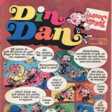 BDs: DIN DAN - AÑO X - Nº 326 - CON BOB MORANE Y MR. MAGELLAN - EDITORIAL BRUGUERA - AÑO 1974.. Lote 48974989