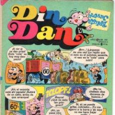 Livros de Banda Desenhada: DIN DAN - AÑO X - Nº 310 - CON BOB MORANE - EDITORIAL BRUGUERA - AÑO 1974.. Lote 48980423