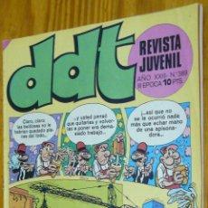 Tebeos: TEBEOS-COMICS GOYO - DDT - Nº 389 - ED. BRUGUERA - 1967 - ***AA99. Lote 49001753