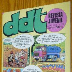 Tebeos: TEBEOS-COMICS GOYO - DDT - Nº 378 - ED. BRUGUERA - 1967 - *BB99. Lote 49001819