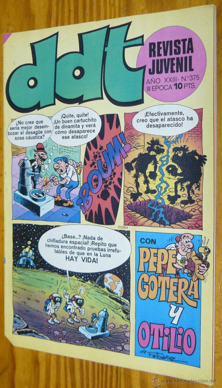 TEBEOS-COMICS GOYO - DDT - Nº 375 - ED. BRUGUERA - 1967 - *BB99 (Tebeos y Comics - Bruguera - DDT)