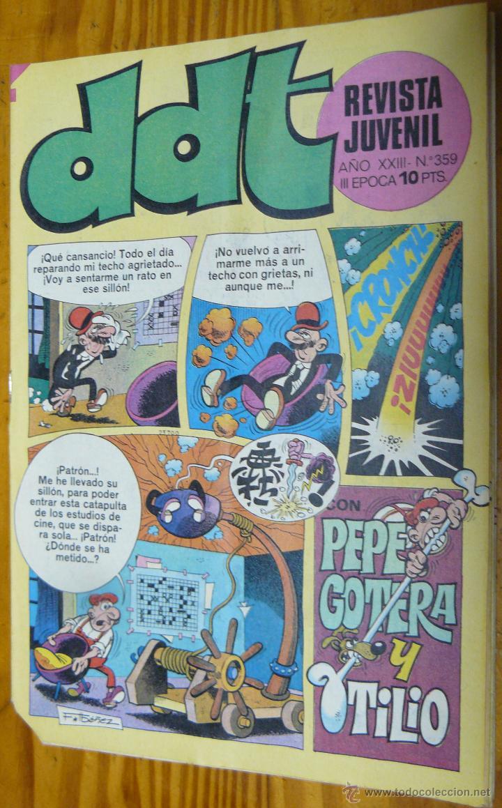 TEBEOS-COMICS GOYO - DDT - Nº 359 - ED. BRUGUERA - 1967 - *BB99 (Tebeos y Comics - Bruguera - DDT)