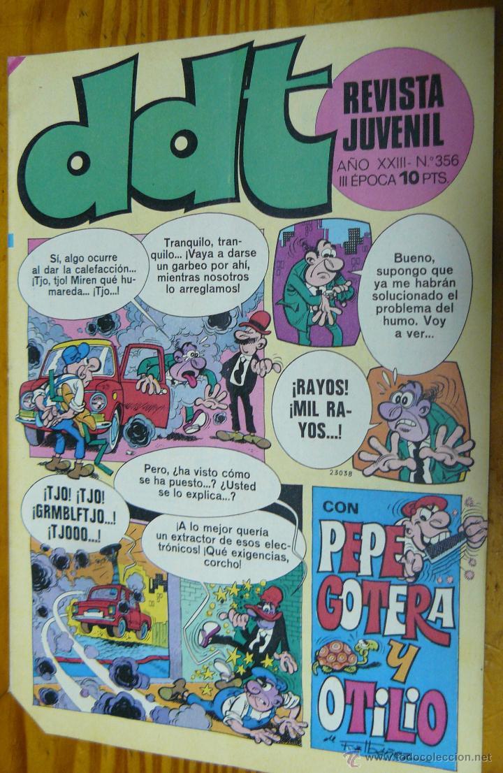 TEBEOS-COMICS GOYO - DDT - Nº 356 - ED. BRUGUERA - 1967 - *BB99 (Tebeos y Comics - Bruguera - DDT)