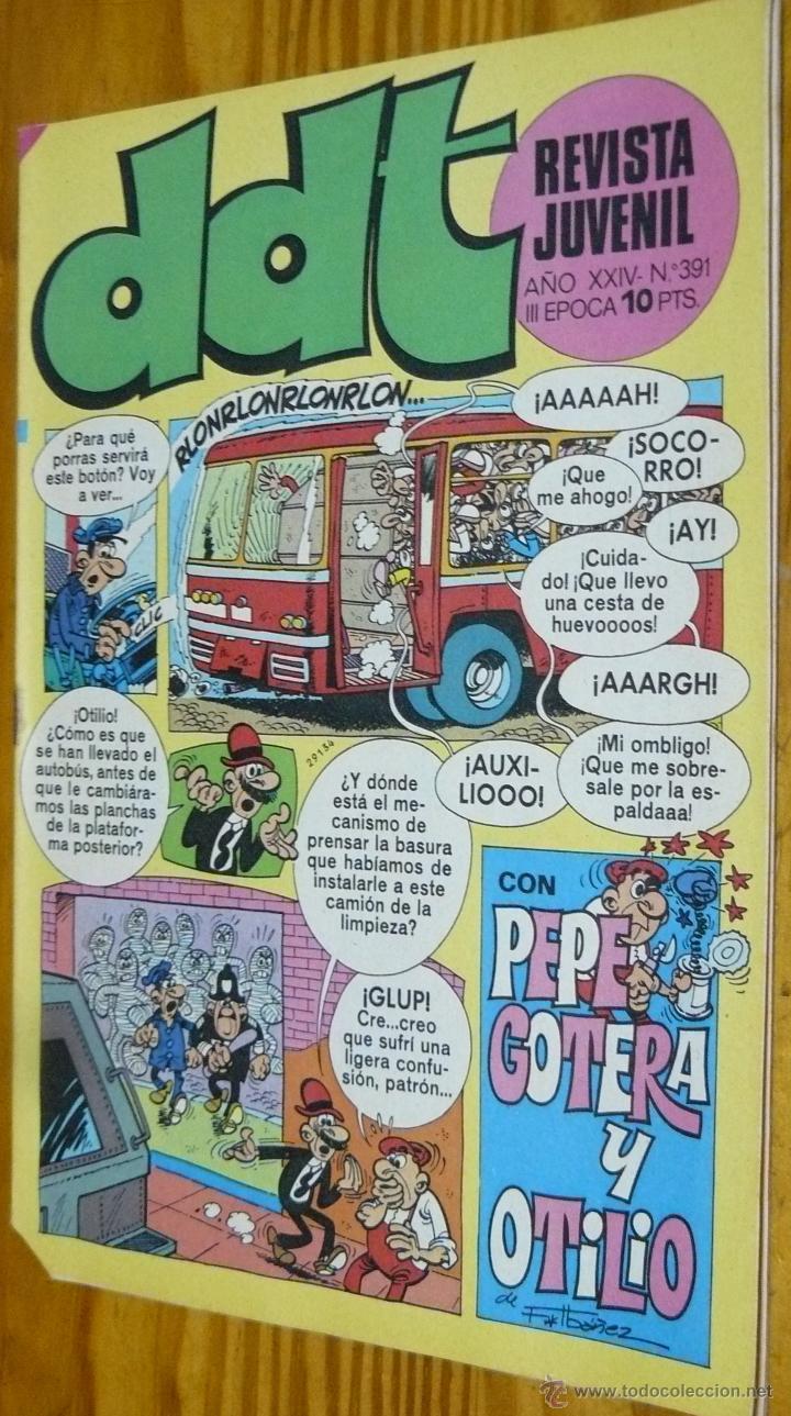 TEBEOS-COMICS GOYO - DDT - Nº 391 - ED. BRUGUERA - 1967 - *BB99 (Tebeos y Comics - Bruguera - DDT)
