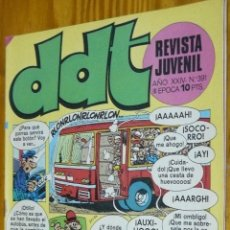 Tebeos: TEBEOS-COMICS GOYO - DDT - Nº 391 - ED. BRUGUERA - 1967 - *BB99. Lote 49002308