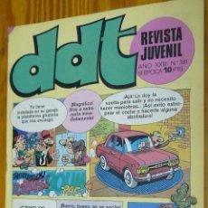 Tebeos: TEBEOS-COMICS GOYO - DDT 381 - ED. BRUGUERA - 1967 - ***AA99. Lote 49002337