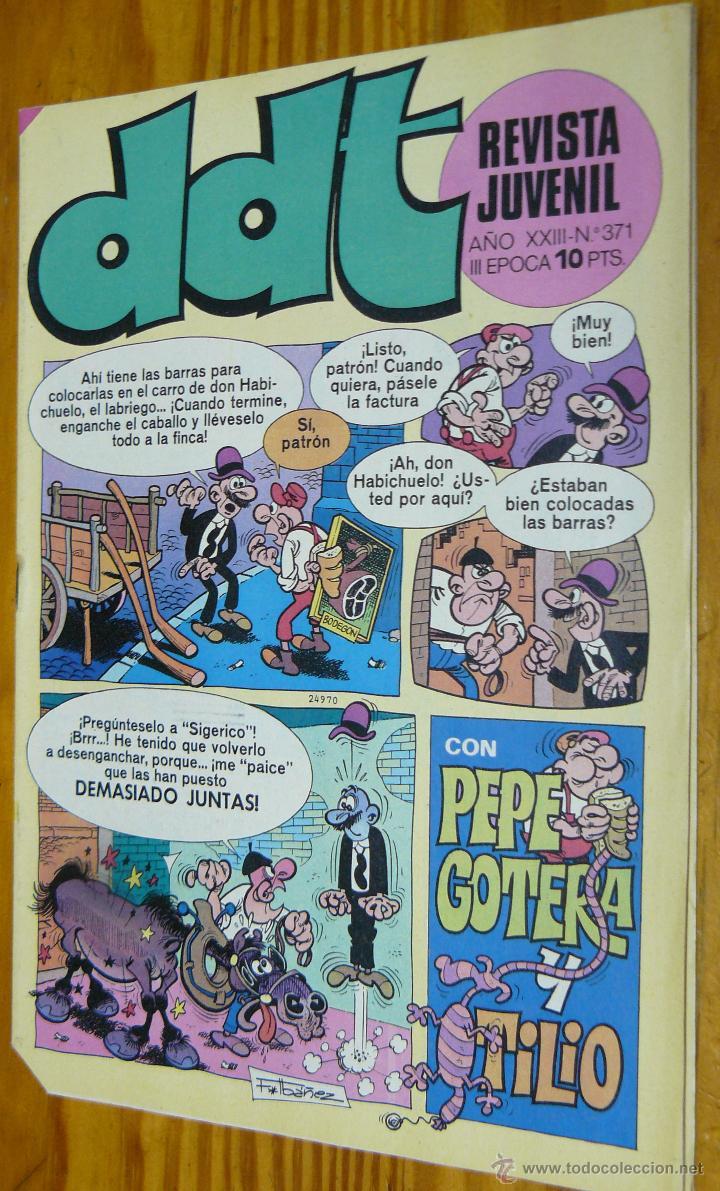 TEBEOS-COMICS GOYO - DDT - Nº 371 - ED. BRUGUERA - 1967 - *BB99 (Tebeos y Comics - Bruguera - DDT)