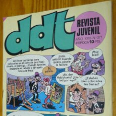 Tebeos: TEBEOS-COMICS GOYO - DDT - Nº 371 - ED. BRUGUERA - 1967 - *BB99. Lote 49002376