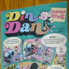 Tebeos: TEBEOS-COMICS CANDY - DIN DAN - Nº 327 - BRUGUERA - 1968 *BB99. Lote 49009797