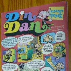 Tebeos: TEBEOS-COMICS CANDY - DIN DAN - Nº 362 - BRUGUERA - 1968 *BB99. Lote 49009973