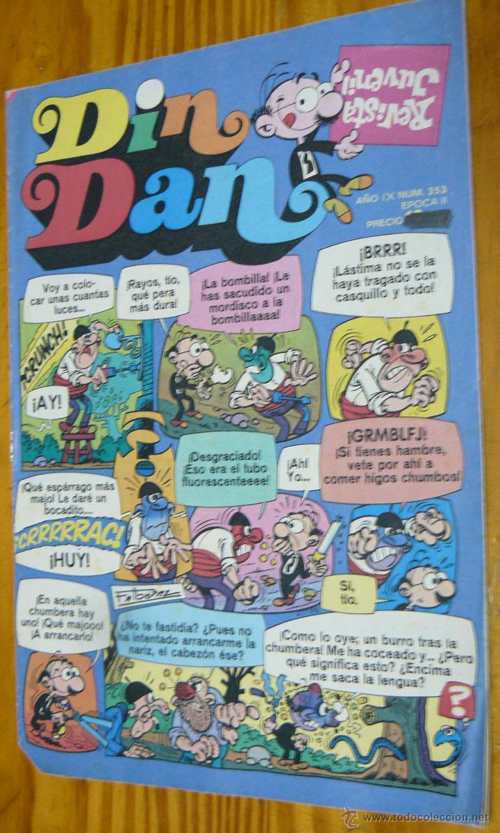 TEBEOS-COMICS CANDY - DIN DAN - Nº 353 - BRUGUERA - 1968 *BB99 (Tebeos y Comics - Bruguera - Din Dan)