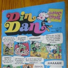 Tebeos: TEBEOS-COMICS CANDY - DIN DAN - Nº 348 - BRUGUERA - 1968 *BB99. Lote 49010142
