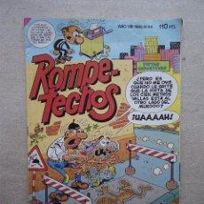 Tebeos - ROMPETECHOS Nº 44 BRUGUERA 1985 MUJER POLICIA - 49103879